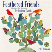 Feathered Friends 2017 Wall Calendar