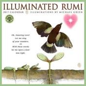 Illuminated Rumi 2017 Wall Calendar