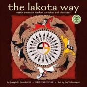 Lakota Way 2017 Wall Calendar