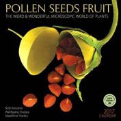 Pollen Seeds Fruit 2017 Wall Calendar