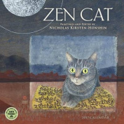 Zen Cat 2017 Wall Calendar