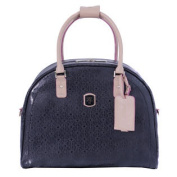 Travel Frosted Collection 43cm Dome Travel Tote - Black
