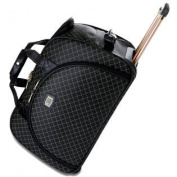 Signature Rolling Carry-On Duffel Bag - Signature Black