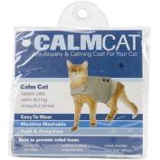 "Calming Cat Coat - Grey-Small 23cm ""-33cm """