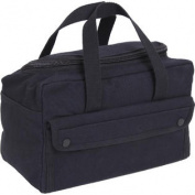 Black Military Mechanics Tool Bag w/ U Shaped Zipper