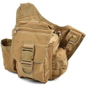 Coyote Brown Military Advanced Tactical Shoulder/Hip Bag