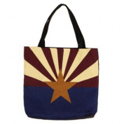 (Price/EACH)Simply Home Flag Of Arizona Tote Bag