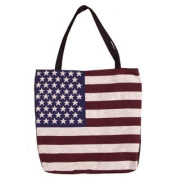 (Price/EACH)Simply Home Flag Of The United States Tapestry Tote Bag