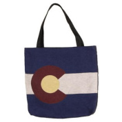 (Price/EACH)Simply Home Flag Of Colorado Tote Bag