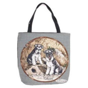 (Price/EACH)Simply Home Schnauzer Tote Bag