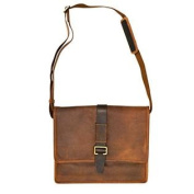 Visconti 16160 ZORRO Large Messenger Bag in Oiled Leather