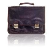 Timmari-Myrtle Italian Leather Messenger Bag [Mocha]