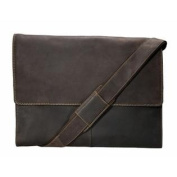 Visconti XL Messenger Work Genuine Brown Leather Bag Plus - Hunter - 16052