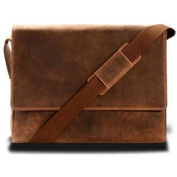 Visconti 18516 Distressed Leather Messenger Bag