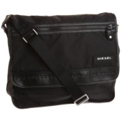 Diesel On The Road Twice New Voyage Messenger Bag,Black,One Size