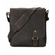 Visconti Oiled Leather Aspin Messenger Bag Hunter 16071