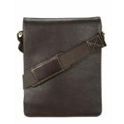 Visconti Mocha Brown 18563 Distressed Leather Fashion Messenger Bag