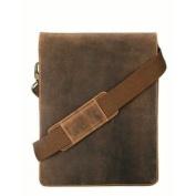 Viscont 18563 Distressed Leather Fashion Messenger Bag