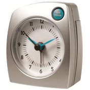 Tripstar Travel Alarm Clock Silver