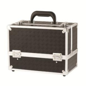 Danielle Enterprises Make-Up Case Cosmetics Trunk, Black