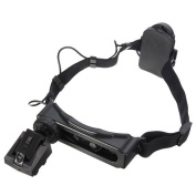 8 Lens Head-Wearing Headband LED Repair Magnifier Magnifying Loupe + 9 LED Flashlight