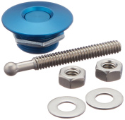 Quik-Latch Products QL-25-BU 3.2cm Diameter Blue Anodized Aluminium Mini Quick Release Latch