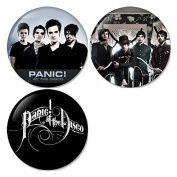 Panic At The Disco #1 Pinback Buttons Badges/Pin 1.25 Inch (32mm) Set of 3 New