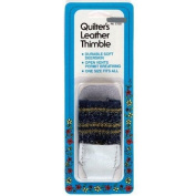 Quilter's Soft Leather Thimble By Collins #C125, Sewing & Quilting Tool