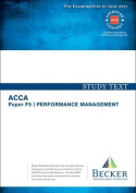 ACCA Approved - F5 Performance Management