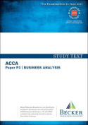 ACCA Approved - P3 Business Analysis
