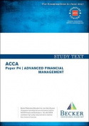 ACCA Approved - P4 Advanced Financial Management