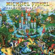Michael Fishel Wall Calendar 2017