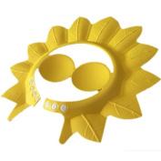 BreaDeep Children Kids Baby Adjustable Safe Shampoo Shower Bathing Soft Cap Sunshade Shield Visor Hat with Ear Protection