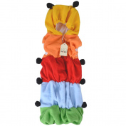 JISEN® Baby Kids Costume Outfit Set Caterpillar Sleeping Bag Romper Newborn Baby Photography Props Sleepwear Blanket Swaddle Wrap sack 0-24 months Photo Props
