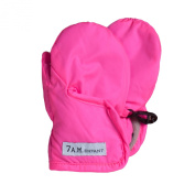 7AM Enfant Classic Mittens 212, Neon Pink, Medium