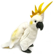 28cm Cockatoo Soft Toy - Plush Cuddly Toy - Suitable for all ages