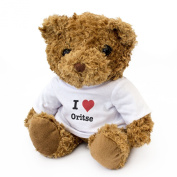 NEW - I LOVE ORITSE - Teddy Bear - Cute And Cuddly - Gift Present Birthday Xmas Valentine