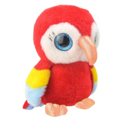 Wild Planet 19 cm Orbys Parrot Plush Toy