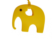 Elephant Teether Soother Silicone Toy BPA Free, 12 Colours