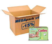 Mega Pack Cuties by First Quality® 168 4/9