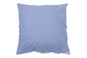 Lottas Lable 61003 53-57 Pillowcase Reversible Star Jeans/Light Blue 80 x 80 cm