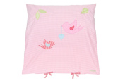 Lottas Lable 61028 Pink Bird Cushion Cover 80 x 80 cm