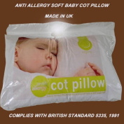SOFT ANTI ALLERGY BABY COT PILLOW FOR NURSEY AND TODDLER NEW