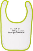 Baby Bib Stown T-Shirt Iconic Slogan You Are A Bildungsresistenter Intelligence Allergy Sufferers