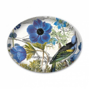 Blue Glass Soap Dish from FND Promotion by Michel Design Works