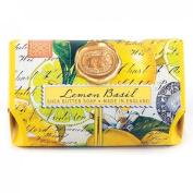 Lemon Basil Large Bath Soap Bar from FND Promotion by Michel Design Works