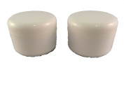 2 Empty Pots 15 ml with Sealing Cap for Transferring Gels and Resins