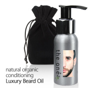 Natural Organic Beard Oil - Mens Facial Beard Hair Treatment Oil. 50ml