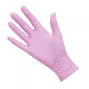 DMI Pink Nitrile Gloves - Box of 100 powder free