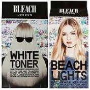 (2 PACK) Bleach London White Toner Kit & Bleach London Balayage Hair Kit Beach Lights